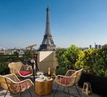 Le bar à ciel ouvert de retour au Shangri-La Hotel Paris