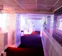 Exclu : le nouveau bar de glace GREY GOOSE au KUBE HOTEL (vidéo)