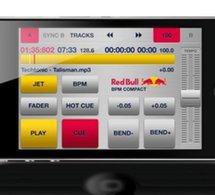 RED BULL sort sa première application pour mixer sur iPhone, iPod Touch et iPad