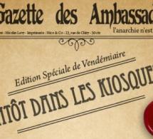 Les Ambassadeurs are back : soirée mythique le 16 octobre