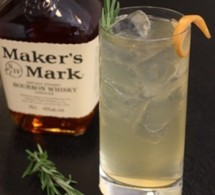 Fiche recette coktail : Maker's Rosemary