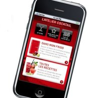 Atelier cocktail lance son appli cocktail sur l'App store