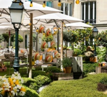 Le Jardin de Joy au Fouquet's Paris avec des cocktails signés Stéphane Ginouvès