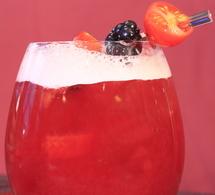 Fiche recette cocktail création : les tentations d'Agnès
