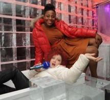 Cindy Lauper & Aline Afanoukoé ont brisé la glace au KUBE Hotel.