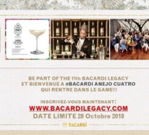 Bacardi Legacy Cocktail Competition 2019 : inscriptions ouvertes