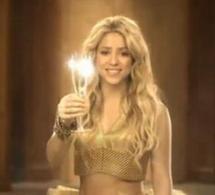 Shakira trinque au Freixenet