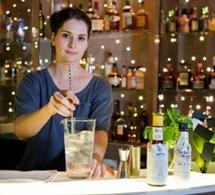 Carina : cocktail création au bar du 7 Hotel (Paris)