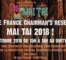 Chairman's MAI TAI Challenge 2018 : Finale France à Paris