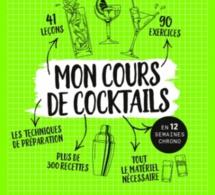 """Sortie livre: """"Mon Cours de Cocktails"""" signé Yoann Demeersseman"""