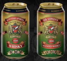 Le Whisky en canettes