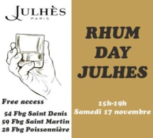 Rhum Day 2018 chez Julhès Paris
