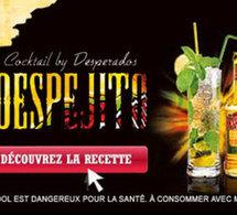 Despejito, le cocktail by Desperados
