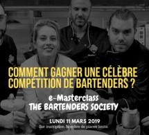 EXCLUSIVITÉ Infosbar : e-Masterclass THE BARTENDERS SOCIETY lundi 11 mars 2019