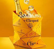 Veuve Clicquot dévoile son seau à champagne pliable