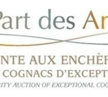 """""""La part des anges 2011"""" : Vente aux enchères de Cognacs d'exception"""