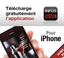 Apps mobiles INFOSBAR : l'info dans votre poche