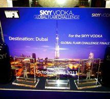Sylvain Glatiny en finale du Skyy Flair Global Challenge à Dubai