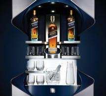 Porsche Design dévoile son bar à Whisky Johnnie Walker