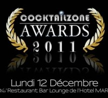 Cérémonie des Cocktailzone Awards lundi 12 décembre
