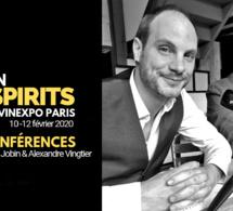 Be Spirits by Vinexpo Paris : les thématiques de conférences avec Ugo Jobin et Alexandre Vingtier