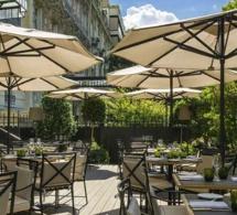 Terrasse Fever-Tree au Shangri-La Hotel Paris