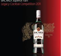 Les Barmen finalistes du Bacardi Legacy Cocktail Competition 2011