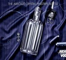 Coffret de Noël 2011 : l'Absolut Cristal Pinstripe