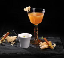 "[ARCHIVE - mai 2019] Cocktail signature ""Relai Des Gones"" by Cathy Mutis"