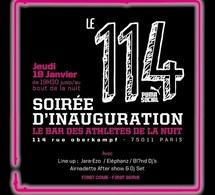 Inauguration du 114 by Puma, le bar des athlètes de la nuit