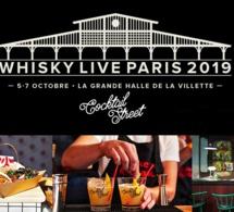 Le Whisky Live Paris & la Cocktail Street s'emparent de la Grande Halle de La Villette