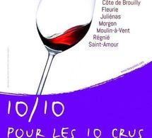 """Les """"10 Crus du Beaujolais"""" 2012"""
