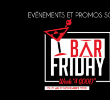 Bar Friday Week 4 Good : une semaine solidaire dédiée à l'univers du bar