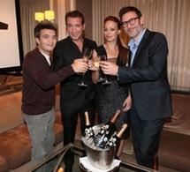 L'équipe de « The Artist » célèbre son succès avec Perrier-Jouët Epoque