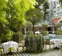 Ouverture de la terrasse du Royal Monceau-Raffles Paris