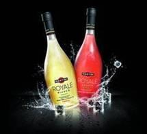 Martini Royale se met en bouteille
