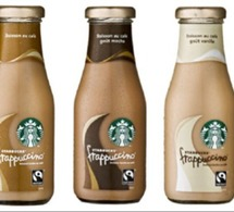 Starbucks France lance ses Frappuccinos® en bouteille
