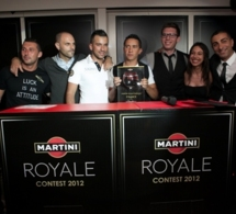 Cocktails des 5 finalistes du Martini Royale Contest 2012