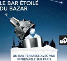 Grey Goose présente le Bar étoilé du Bazar, un bar éphémère sur le toit du BHV