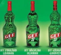 Get 27 collabore avec 3 artistes de la nuit pour personnaliser ses bouteilles