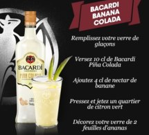 Cocktail Bacardi Banana Colada