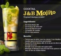 Cocktail J&B Mojito
