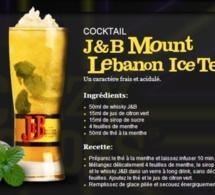 Cocktail J&B Mount Lebanon Ice Tea