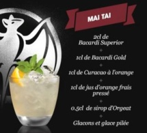 Cocktail Mai Tai par Bacardi