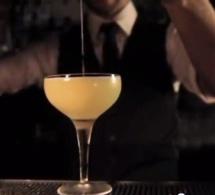 """Cocktail """"La Belle Epoque"""" par Benjamin Chiche - finaliste de la Bacardi Legacy France 2013"""