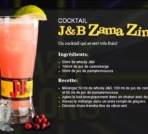 Cocktail J&B Zama Zing