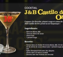 Cocktail J&B Castillo de Oro