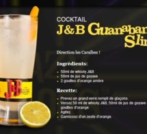 Cocktail J&B Guanabana Sling