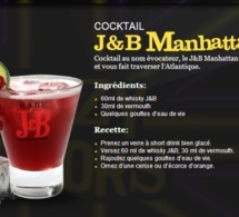 Cocktail J&B Manhattan