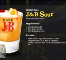 Cocktail J&B Sour